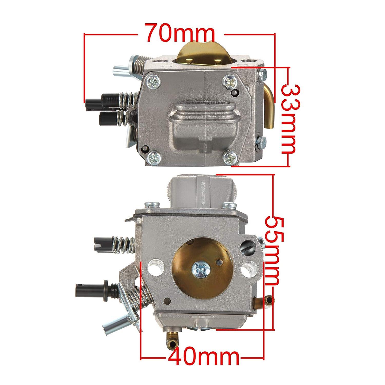 Dromedary 11281200625 Vergaser f/ür Stihl 029 039 044 046 MS290 MS310 MS390 MS440 MS460 Walbro HD-11 HD-15 HD-17 HD-19A