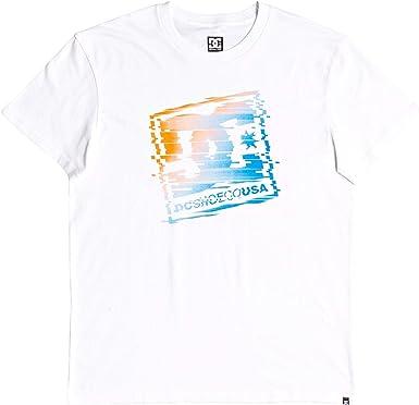 DC Shoes TV Glitch - Camiseta - Hombre - S: Amazon.es: Ropa y accesorios