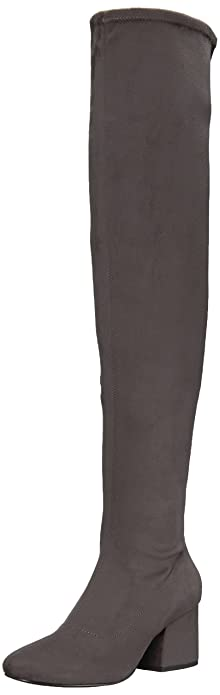 1918c908b34 KENDALL + KYLIE Women s Sophia Over The Over The Knee Boot Grey 6.5 Medium  US
