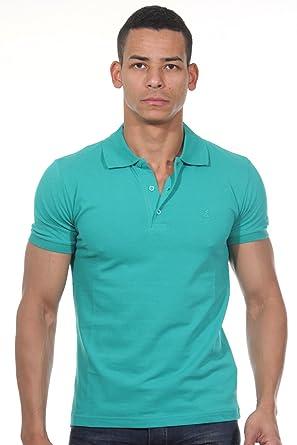 FIOCEO Poloshirt slim fit S, grün
