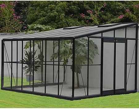 Provence Outillage-Invernadero de jardín para invierno, color 12 m², con base Chalet 316-PEGANE-x 375 x 250 cm: Amazon.es: Hogar
