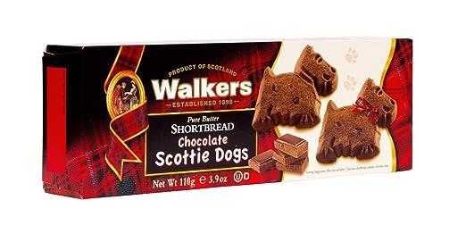 Amazon.com: Walkers Shortbread Chocolate Scottie Dogs Shortbread ...