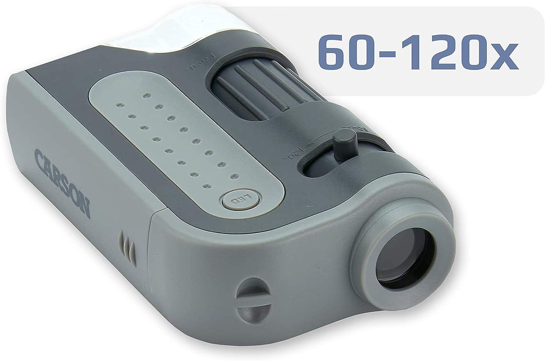 Negaor MicroBrite Plus 60x-100x LED Lighted Pocket Microscope Optical Glass Lens Mini Portable