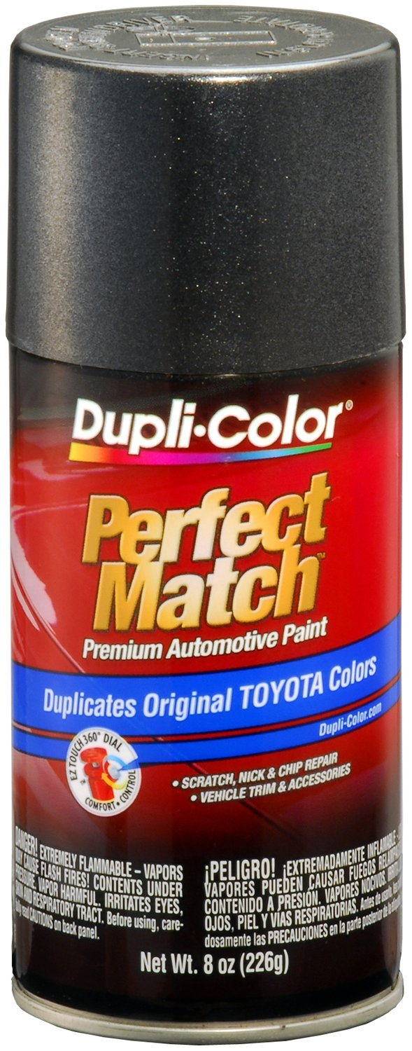Amazon.com: Dupli-Color BTY1600 Graphite Gray Pearl Toyota Exact ...