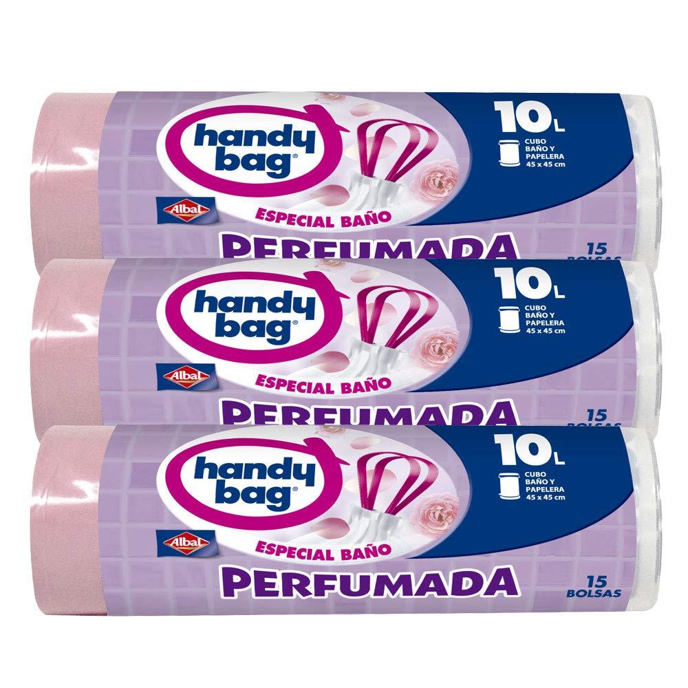 Bolsas de basura perfumadas con cinta de cierre 35 L, 4 rollos con 15 bolsas//bolsas de basura de 35 L Stella Premium Bags Line