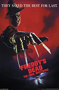 Trends International Nightmare on Elm Street-Freddy's Dead Wall Poster, 22.375