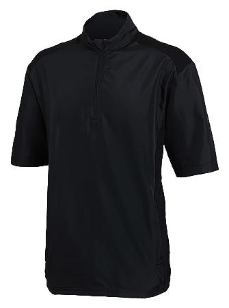Adidas Club Wind Chaqueta de Manga Corta de Golf, Hombre, Negro, S