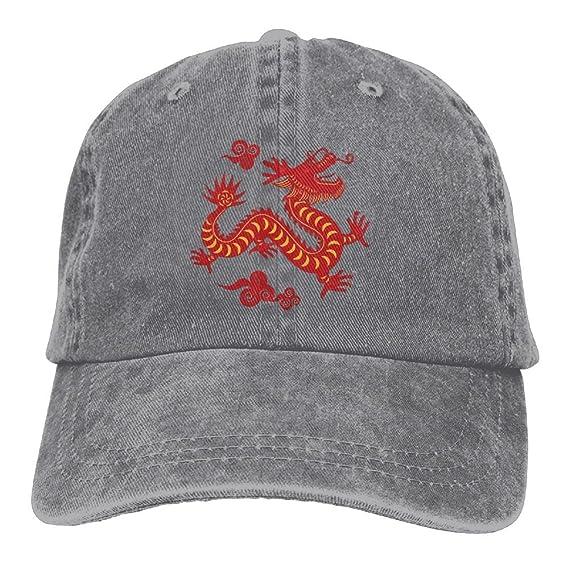 3595bff6c XZFQW Dragon Chinese Trend Printing Cowboy Hat Fashion Baseball Cap ...