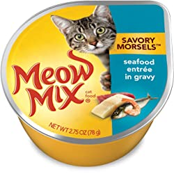 Meow Mix Savory Morsels Wet Food