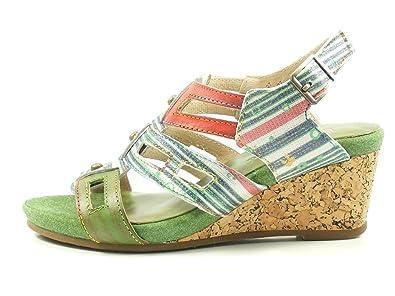 Laura Vita SL140356 27 Benoit 27 Schuhe Damen Keil Sandalen Sandaletten
