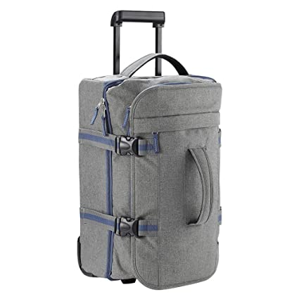 0ead46519 Cabin Max Marseille Wheeled Holdall Bag Cabin Suitcase - Cabin Luggage  55x35x20 38 Litre - Lightweight