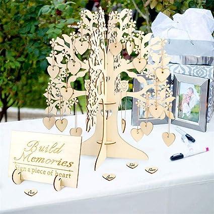 Amazon.com: Coaste - Árbol de deseos para boda, árbol de ...