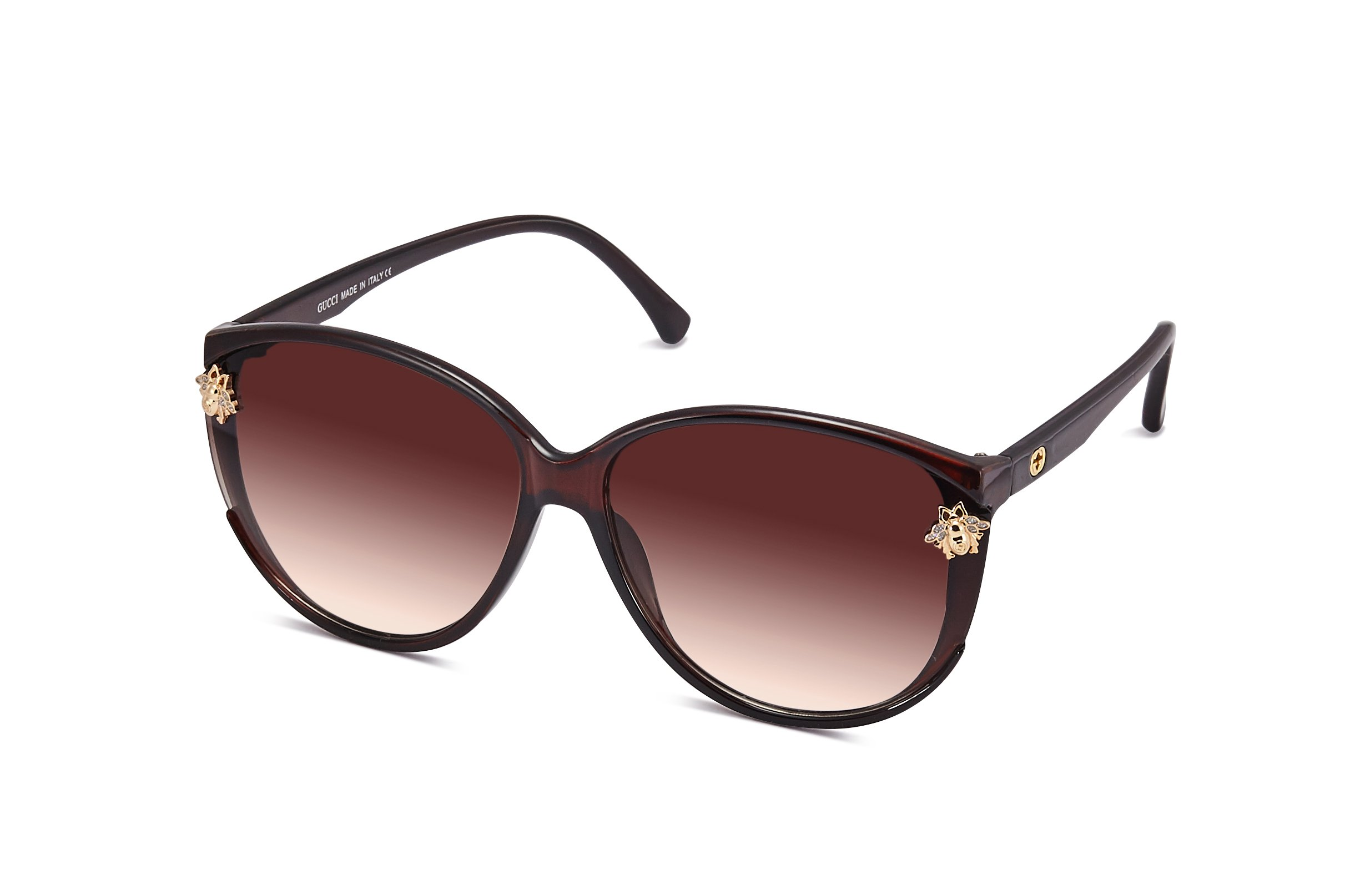 G Style Classic Best Value UV400 Women Men Retro Brand Sunglasses (g-tea)