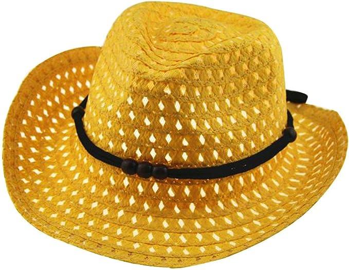 pingtr Sombrero del bebé niña y niño, Sombrero de Paja ...