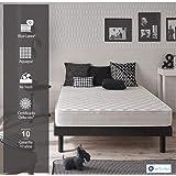 NATURALEX Matelas Supratex - Mousse Blue Latex® + AQUAPUR® Tissu aux extraits d' Aloe Vera - 7 Zones de Confort - 140 x 190 cm