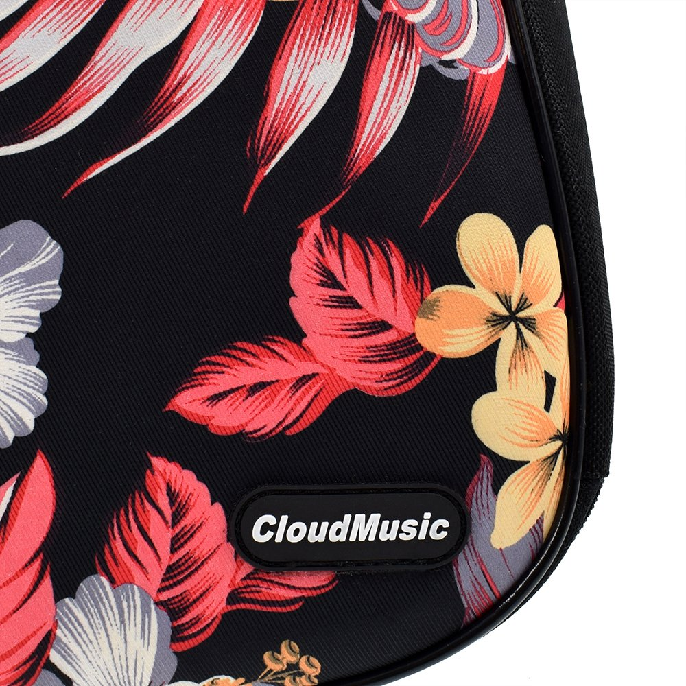 Cloudmusic Ukulele Case Water Resistant Waterproof Ukulele Backpack