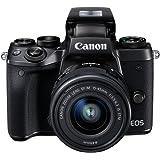 Canon EOS M5 Fotocamera Digitale Mirrorless con Obiettivo EF-M 15-45mm, f/3.5-6.3 IS STM, Nero