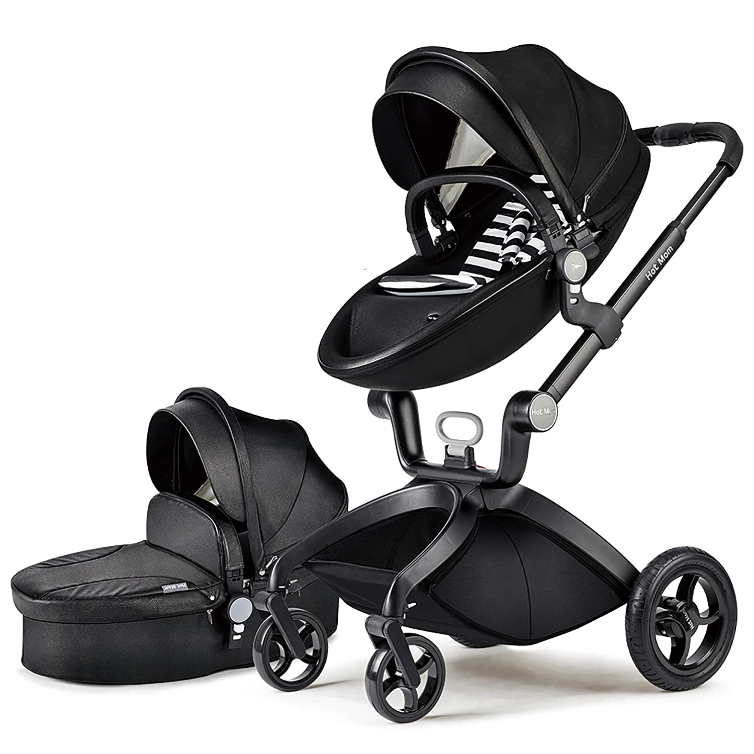 Hot Mom Baby Carriage With Adjustable Seat