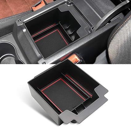 Yee Pin Mittelkonsole Seat Ateca 2016 2019 Handschuhfach Für Armlehne Organizer Aufbewahrungsbox Mit Rutschfestermatte Autozubehör Auto
