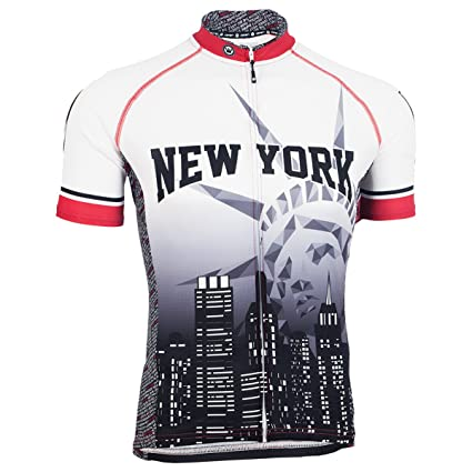 Image Unavailable. Image not available for. Color  Canari Cyclewear NYC  Liberty Bike Jersey - Men s 69753a6d1