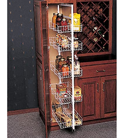 Amazon.com: Pull Out Pantry Units Side Mount Pantry Roll Outs: Home on lazy susan for kitchen cabinets, corbels for kitchen cabinets, sliding shelves for kitchen cabinets,