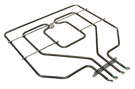 Tecnik 00448351 Horno y horno accesorios/calentadores/hobs/Original de Repuesto Barbacoa Resistencia
