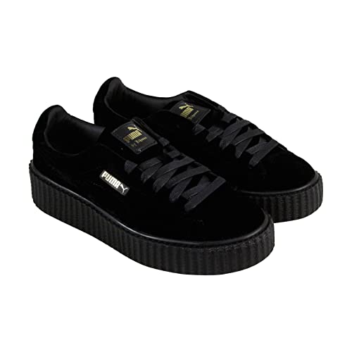 E it 38 Amazon X Fenty Borse In Rihanna Scarpe Nero Puma Velluto Taglia Creeper 7CvUw06