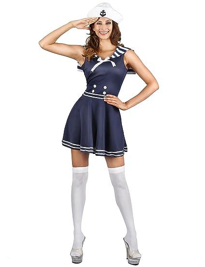 Generique - Disfraz Marinera Mujer XS: Amazon.es: Juguetes y ...