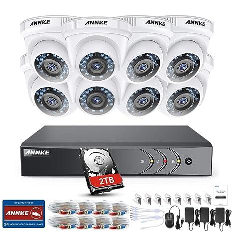 ANNKE Kit de Seguridad 3MP H.265+ DVR 8+2 Canal y 8