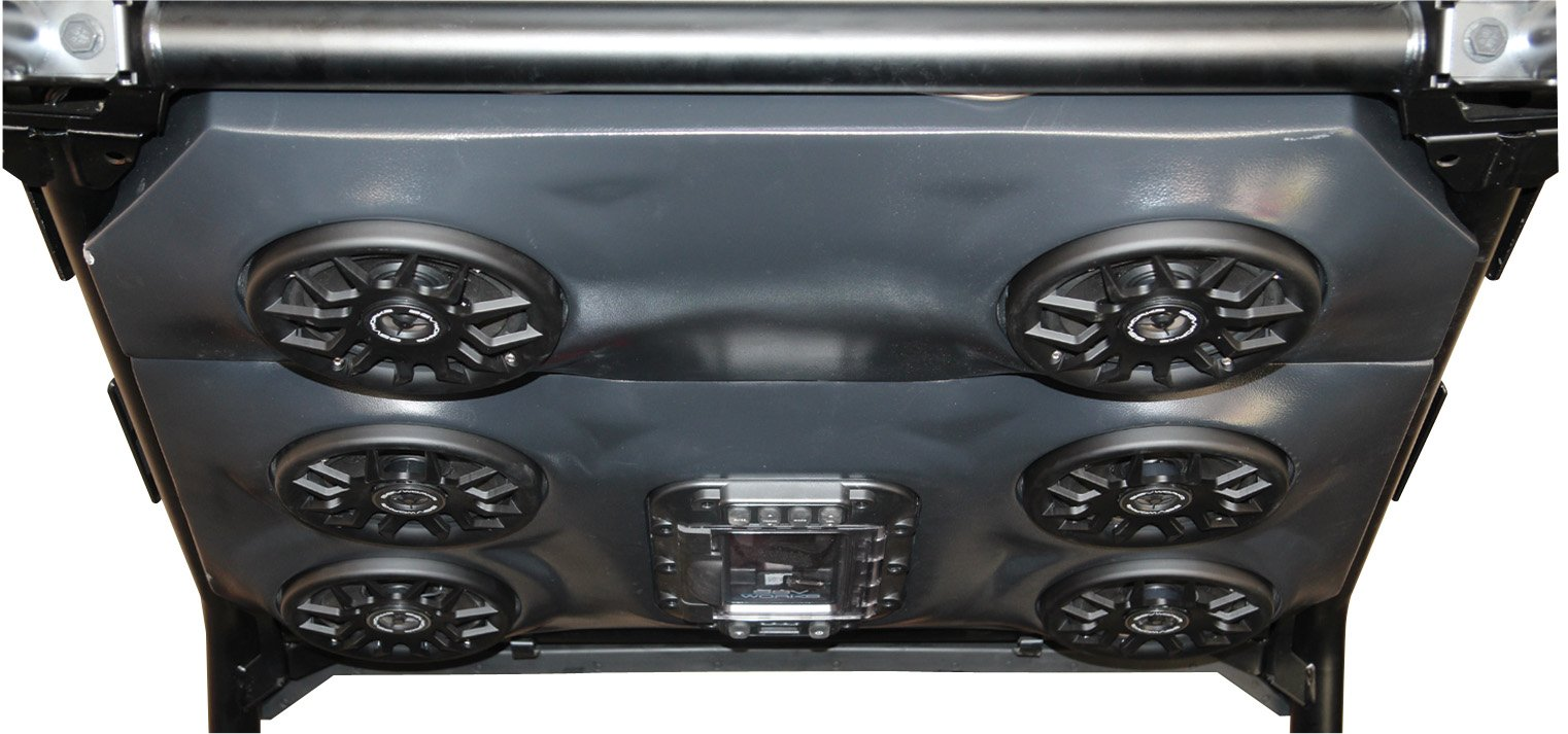 SSV Works Polaris RZR1K and 2015 RZR900 2 seat Overhead Stereo Speaker Pod fits 6 1/2'' Speakers by SSV Works (Image #3)