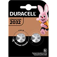 Pilha Moeda CR 2032 DURACELL com 2 unidades, Duracell