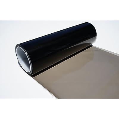 DIBRAND Headlights, Tail Lights, Fog Lights Tint Vinyl Film, Self Adhesive (Small 12''X48'', Gloss Black): Automotive