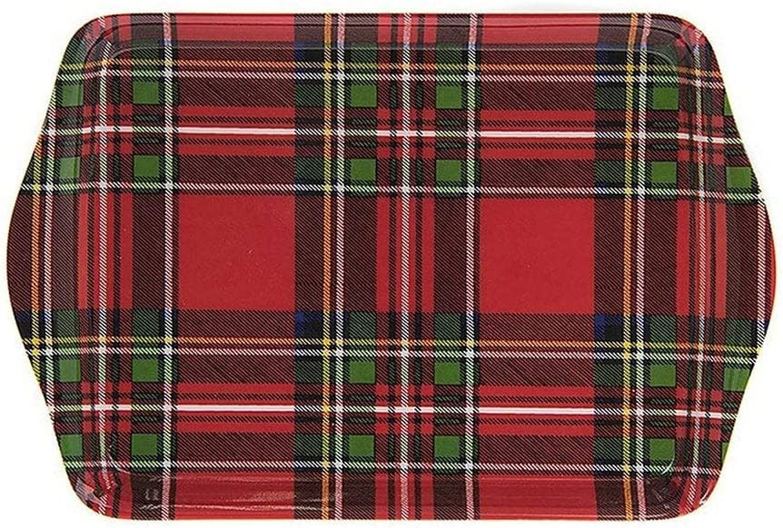Royal Stewart Red Tartan Tray Amazon Co Uk Kitchen Home