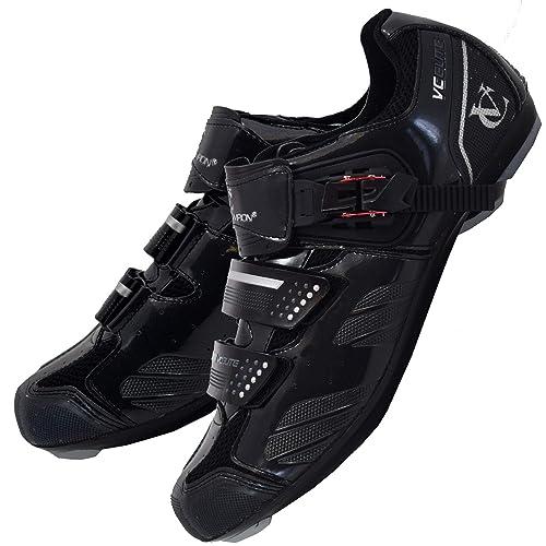 9da6db9d9 VeloChampion Scarpe per Ciclismo da Strada Elite (Paio) Black/Silver 41
