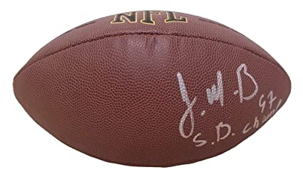 Denver Broncos Malik Jackson Autographed Hand Signed NFL Wilson Football  with Super Bowl Inscription and Proof 4df370009