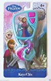 Disney Frozen Keys Set Kids Pretend Play Toy Key Ring Anna Elsa W Sound