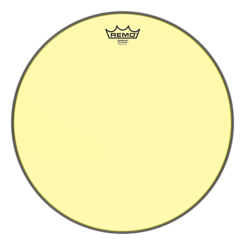 16 Remo Emperor Colortone Yellow Drumhead