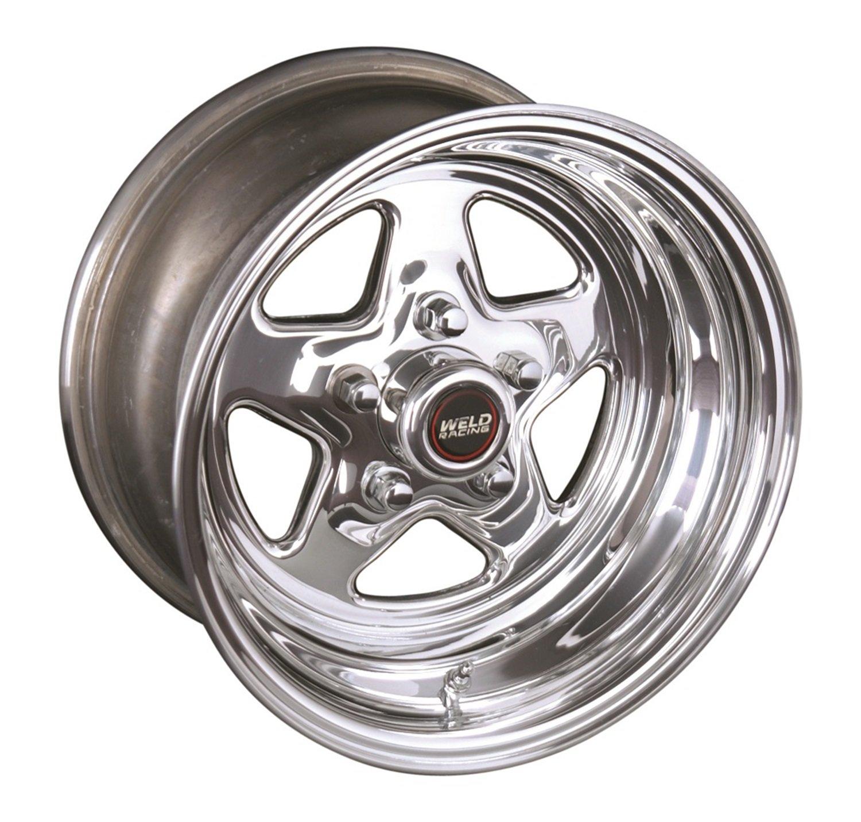 Polished Aluminum Wheel Weld Racing 96-510280 15x10//5x4.75