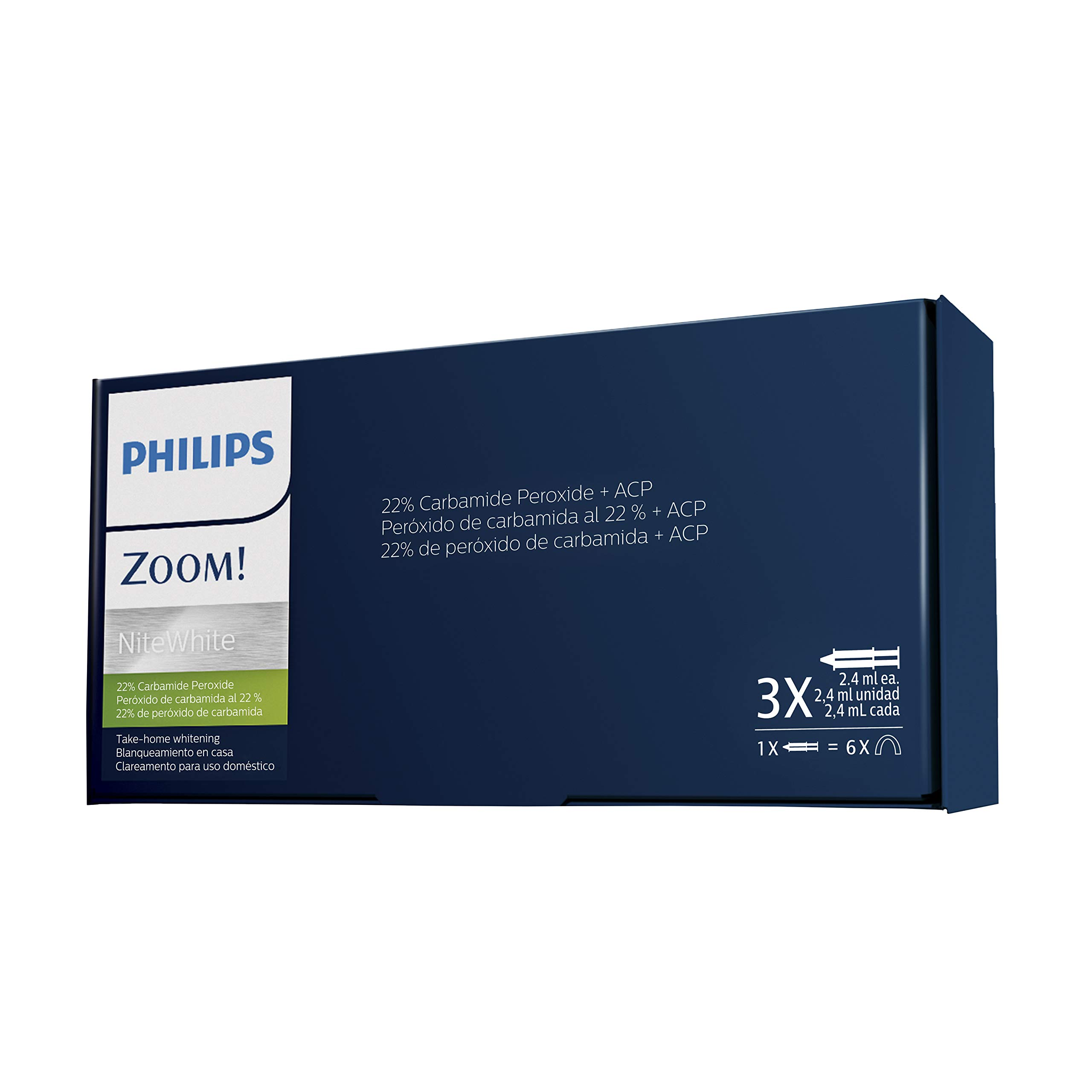 Philips Zoom Take Home Patient Care Kit NiteWhite 22% CP (3 syr)