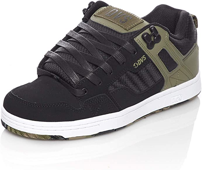DVS Skateboard Shoes Enduro 125 Olive//Black//White