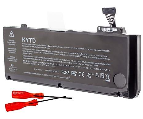 KYTD A1322 Batería de Repuesto de Portátil para Apple Macbook Pro 13 Pulgadas A1322 A1278 Unibody