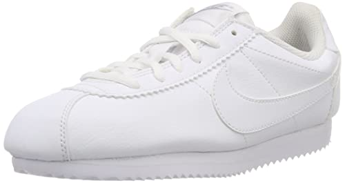 new products 96d3c 3b055 Nike Cortez (Gs), Girls  Competition Running Shoes, Blanco   Gris (