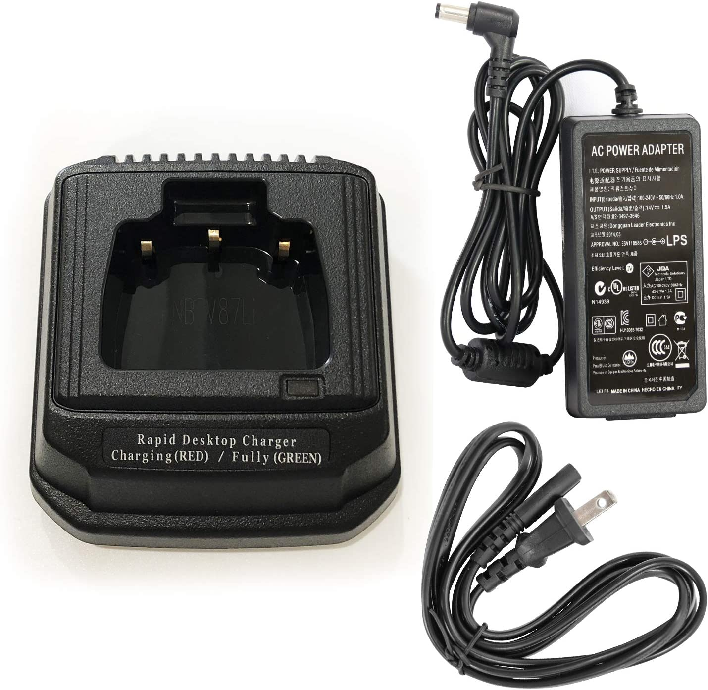 VAC-920 Rapid Charger for Vertex VX821 VX829 VXP821 VXP824 VXP829 Radio