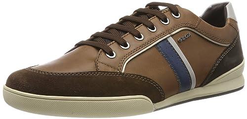Geox U KRISTOF Marron Chaussures Baskets basses Homme