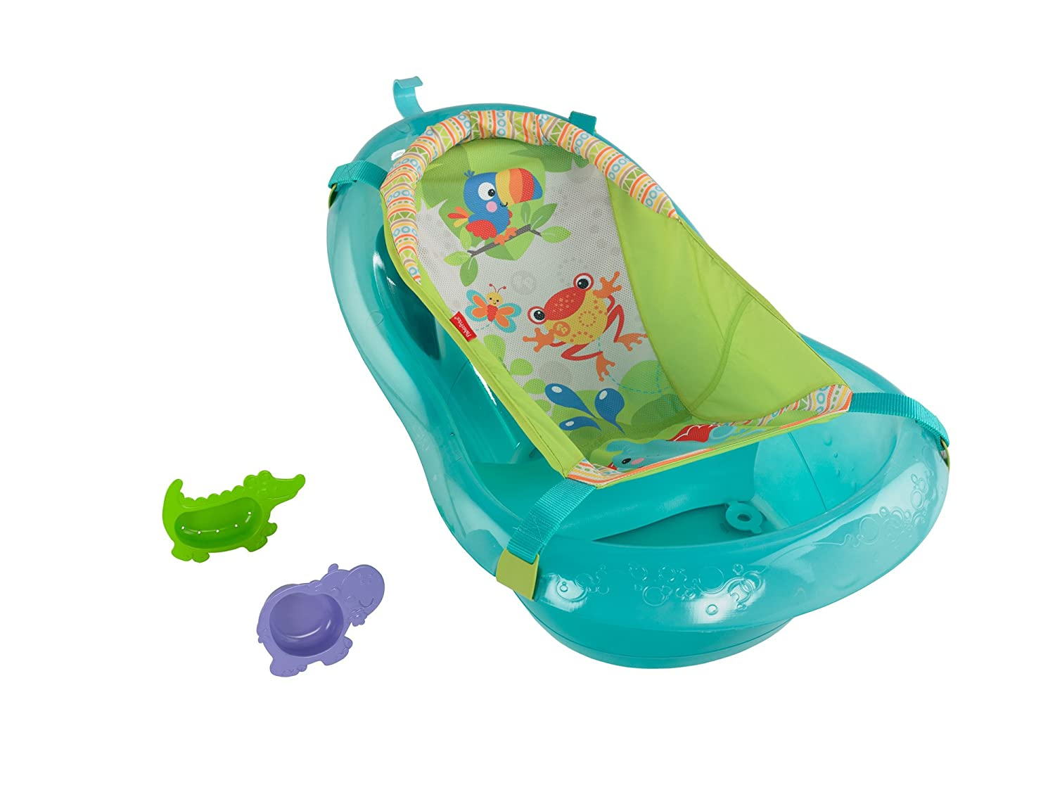 Baby bath chairs for the tub - Amazon Com Fisher Price Bath Tub Rainforest Friends Baby Bathing Seats And Tubs Baby