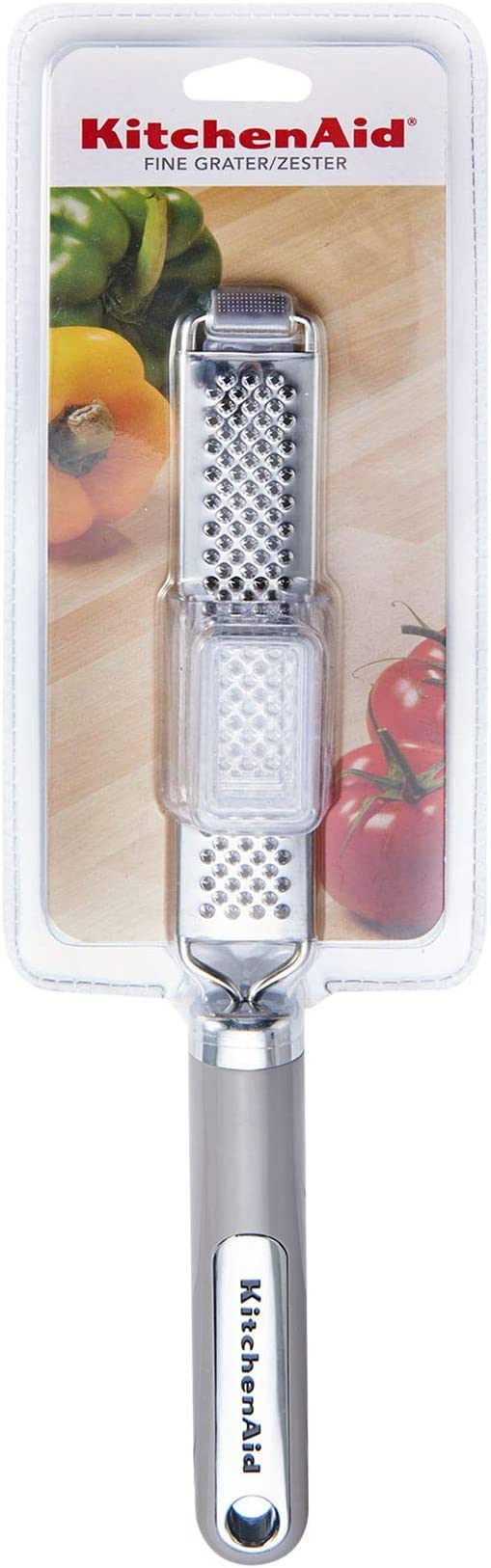 Kitchenaid Kc296ohgsa Classic Stainless Steel Zester Fine Grater One Size Storm Gray Amazon Ca Home Kitchen