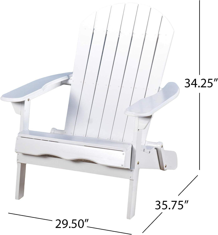 Heavy Duty Sun Lounger, Milan Outdoor Folding White Wood Adirondack Chair Amazon Ca Patio Lawn Garden