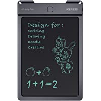 IGERESS Newest Pink 9-inch LCD Writing Tablet Electronic Writing Board Digital Drawing Board Graphic Drawing Tablet Durable (Pink) …