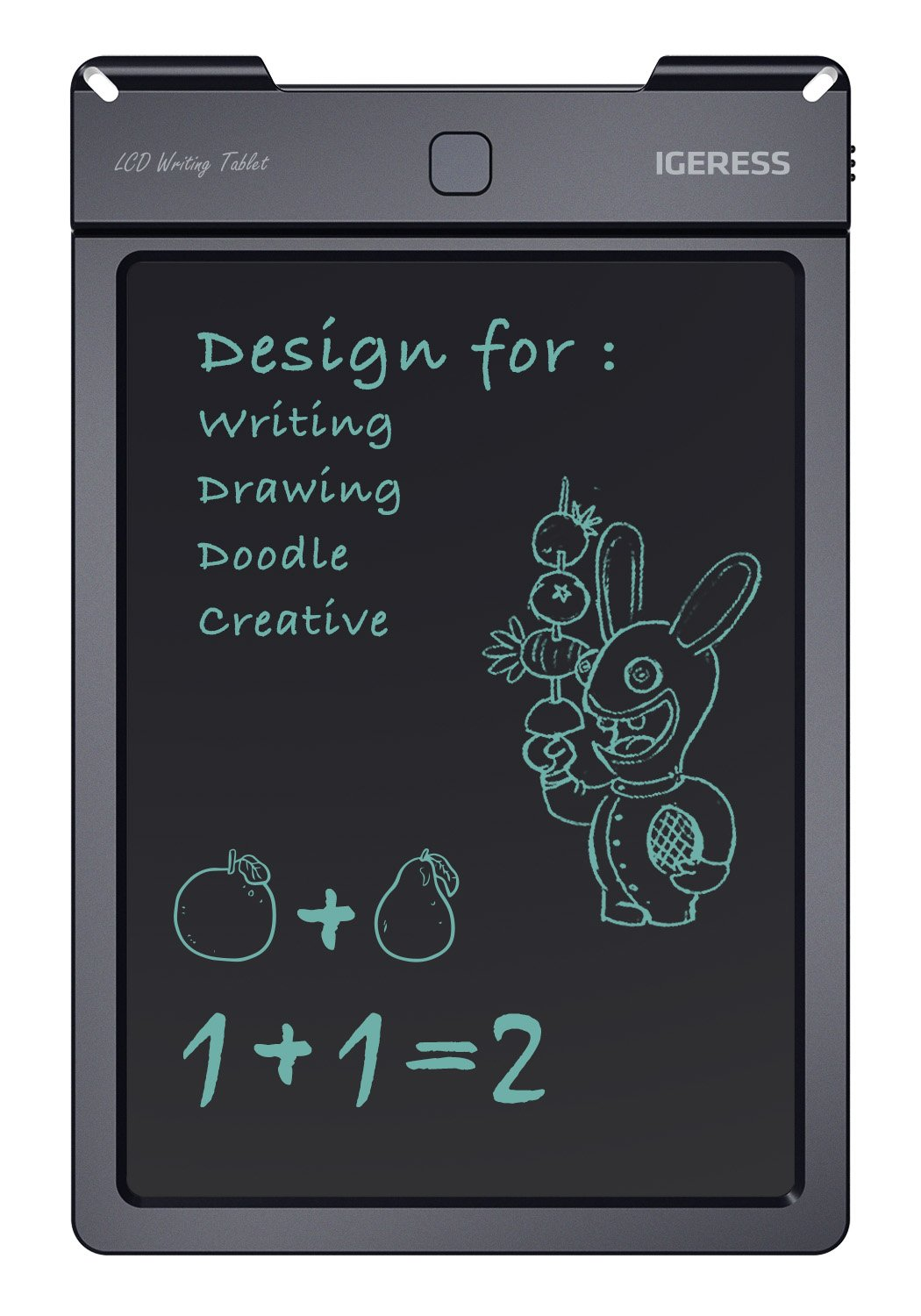 IGERESS 9-inch LCD Writing Tablet Electronic Writing Board Digital Drawing Board Graphic Drawing Tablet Durable by IGERESS