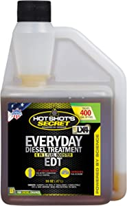 Hot Shot's Secret Everyday Diesel Treatment - EDT 16 oz Squeeze - Treats up to 400 Gallons